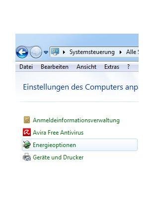 Windows Aleitungen und Tutorials: Reaktivierungskennwort des Windows 7 Ruhezustandes deaktivieren - Windows 7 Systemsteuerung Energieoptionen