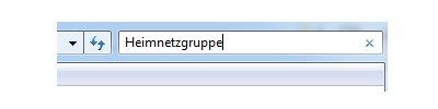 Windows 7 Heimnetzwerk Tutorial: Heimnetzgruppe einrichten - Systemsteuerung Suche nach Heimnetzgruppe