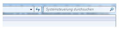 Windows 7 Heimnetzwerk Tutorial: Heimnetzgruppe einrichten - Systemsteuerung Suchfeld