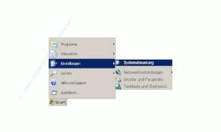 Anleitung Benutzerkonto / Benutzerkonten anzeigen lassen - Start, Einstellungen, Systemsteuerung