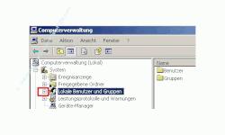 Anleitung: Windows Benutzerkonto einrichten - Computerverwaltung  - Lokale Benutzer und Gruppen  öffnen