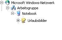 Schritt für Schritt Anleitung: Netzlaufwerk verbinden mit Hilfe des Windows Explorers - windows-explorer-freigegebenen-ordner-auswählen