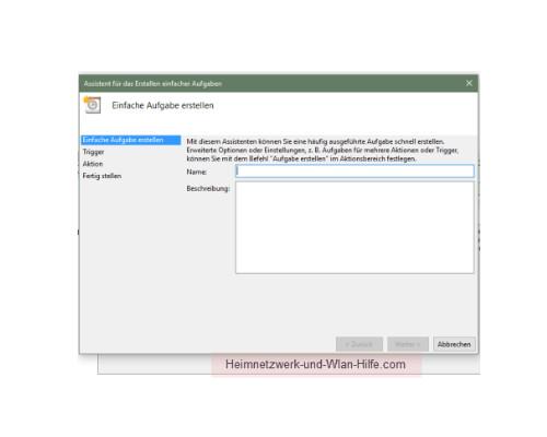 Windows 10 - Mit der Aufgabenplanung Hintergrundaktivitäten aufspüren – Der Assistent für das Erstellen einfacher Aufgaben