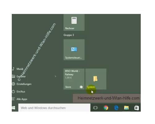 Windows 10 - Systemschnittstelle Alle Aufgaben im Startmenü integrieren – Einen Ordner im Startmenü als Kachel einbinden