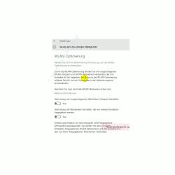 Windows 10 - Die neuen Netzwerkkonfigurationsmenüs – Das Konfigurationsfenster Wlan-Einstellungen verwalten