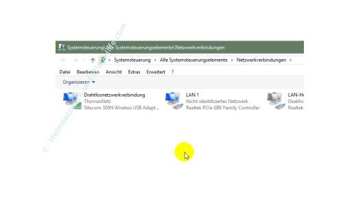 Windows 10 - Die neuen Netzwerkkonfigurationsmenüs – Übersicht der Netzwerkverbindungen