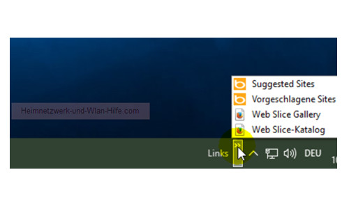 Windows 10 Tutorial - Symbolleisten in der Taskleiste einbinden – Die Symbolleiste Links