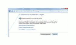 Windows 7 Heimnetzwerk Tutorial: Heimnetzgruppe einrichten - Systemsteuerung Suchergebnis Heimnetzgruppe
