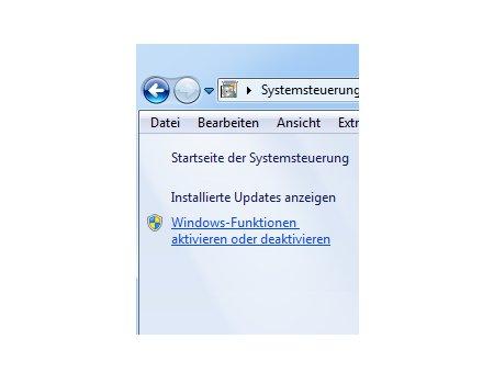 Die Windows 7 Suche deaktivieren und aktivieren - Windows Funktionen aktivieren und deaktivieren