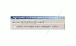 Wlan-Netzwerk Anleitungen: Wlan-Netzwerkkarte konfigurieren! Fenster Wlan-Adapter Eigenschaften - Kein Häkchen bei Windows zum Konfigurieren der Einstellungen verwenden