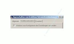 Wlan-Netzwerk Anleitungen: Wlan-Netzwerkkarte konfigurieren! Fenster Wlan-Adapter Eigenschaften - Häkchen bei Windows zum Konfigurieren der Einstellungen verwenden