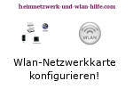 Wlan-Netzwerkkarte konfigurieren!