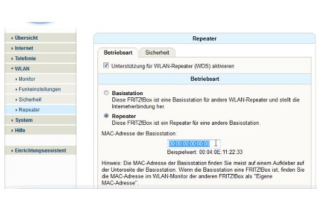 Wlan-Netzwerk Tutorial: Wlan Router als Wlan Repeater konfigurieren – Repeater-Funktion aktivieren