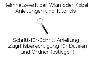Zugriffsberechtigung für Dateien und Ordner festlegen