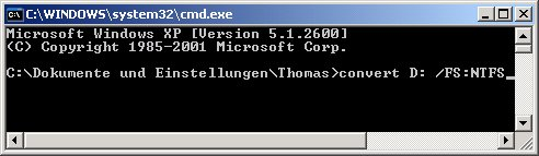 Windows Netzwerk Tutorial: Zugriffsberechtigung für Dateien und Ordner festlegen! convert - Befehlskonsole
