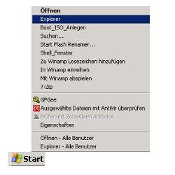 Netzwerk Anleitung: Zugriffsberechtigungen für Dateien und Ordner unter Windows vergeben! Start -Explorer