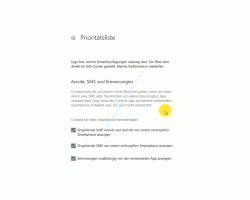 Windows 10  Tutorial - Die Anzeige von Benachrichtigungen im Infocenter anpassen! - Zulässige Benachrichtigungen über die Prioritätsliste festlegen